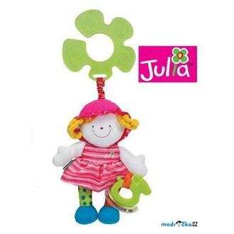 Pro nejmenší - K's Kids - Veselá panenka s úchytem na kočárek