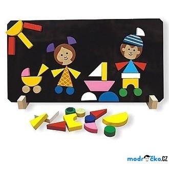 Puzzle a hlavolamy - Puzzle magnetické - Děti (Detoa)