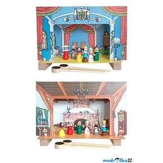 Dřevěné hračky - Magnetické divadlo - Popelka (Detoa)