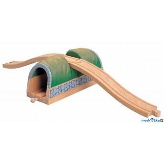 Vláčkodráhy - Vláčkodráha tunely - Tunel s nadjezdem (Maxim)