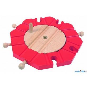 Vláčkodráhy - Vláčkodráha koleje - Točna, 8 směrů (Woody)