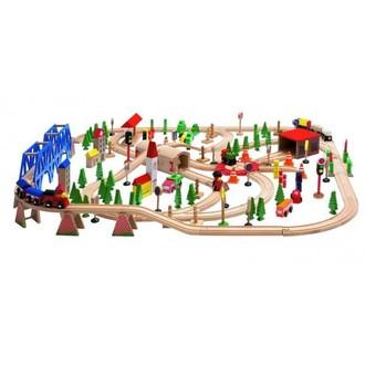 Vláčkodráhy - Vláčkodráha Woody - Super Train, 170 dílů