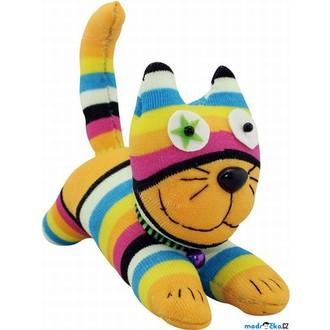 Dřevěné hračky - Kreativní sada - Postavička z ponožky, Kočka (Legler)