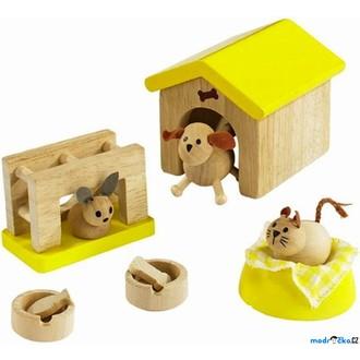 JIŽ SE NEPRODÁVÁ - Nábytek pro panenky - Domácí zvířátka DOPRODEJ (Educo)