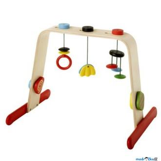 Pro nejmenší - Hrazdička - Dřevěná hrazda pro miminka LEKA (Ikea)