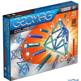 Stavebnice - Geomag - Kids Color, 40 ks