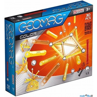 Stavebnice - Geomag - Kids Color, 30 ks