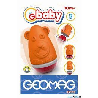 JIŽ SE NEPRODÁVÁ - Geomag - Baby Roly, Poly Bear (oranžový medvěd)