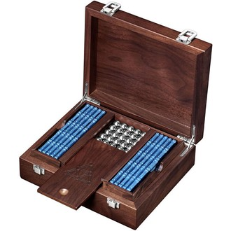 JIŽ SE NEPRODÁVÁ - Geomag - Pro Metal Wooden box, 350 ks