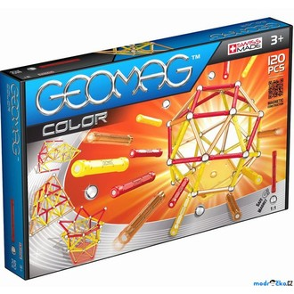 Stavebnice - Geomag - Kids Color, 120 ks