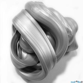 Nedřevěné hračky - Inteligentní plastelína - metalická, Zářivá stříbrná