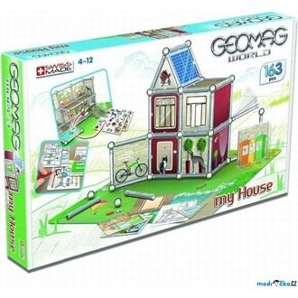 JIŽ SE NEPRODÁVÁ - Geomag - World, House Basic, 163 dílků