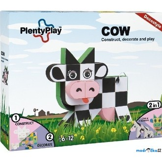 Stavebnice - Plenty Play Decostyle - Stavebnice, Cow