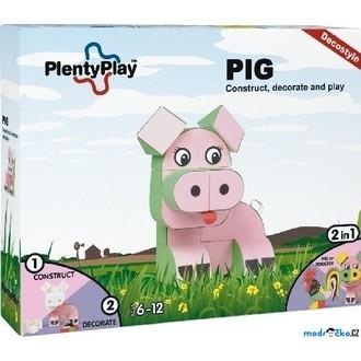 Stavebnice - Plenty Play Decostyle - Stavebnice, Pig
