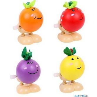 JIŽ SE NEPRODÁVÁ - Drobné hračky - Natahovací skákací ovoce, 1ks (Bigjigs)