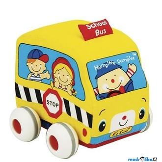 JIŽ SE NEPRODÁVÁ - K's Kids - Lákové natahovací auto, Školní autobus