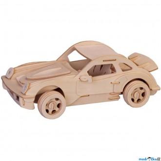 Puzzle a hlavolamy - 3D Puzzle přírodní - Porsche (menší)