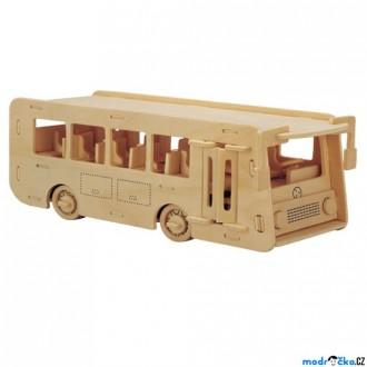 Puzzle a hlavolamy - 3D Puzzle přírodní - Autobus
