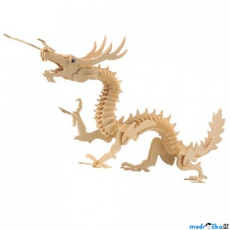 Puzzle a hlavolamy - 3D Puzzle přírodní - Drak asijský