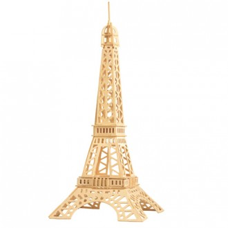 Puzzle a hlavolamy - 3D Puzzle přírodní - Eiffelova věž