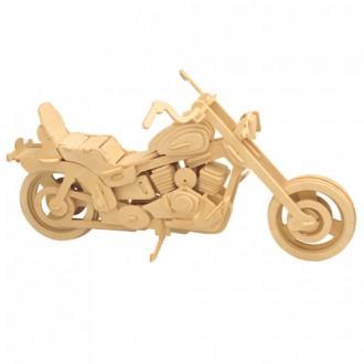 Puzzle a hlavolamy - 3D Puzzle přírodní - Harley Davidson I