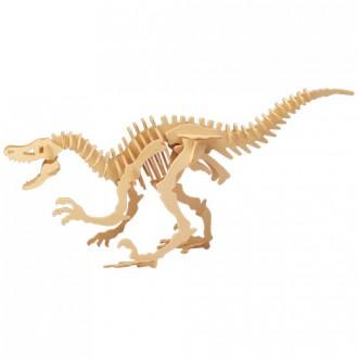 Puzzle a hlavolamy - 3D Puzzle přírodní - Velociraptor