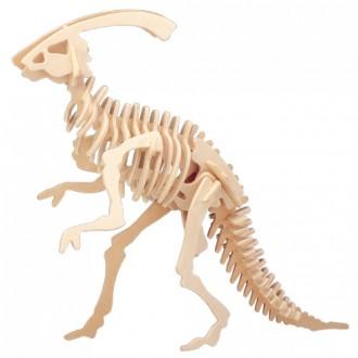 Puzzle a hlavolamy - 3D Puzzle přírodní - Parasaurolophus