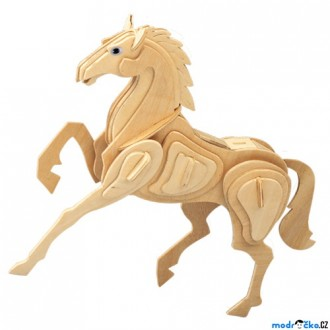 Puzzle a hlavolamy - 3D Puzzle přírodní - Kůň