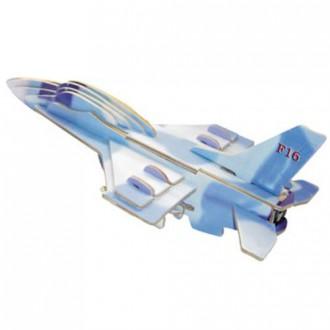 Puzzle a hlavolamy - 3D Puzzle barevné - Stihačka F-16