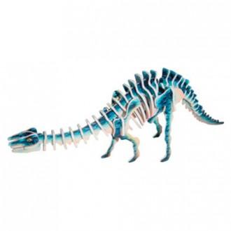 Puzzle a hlavolamy - 3D Puzzle barevné - Apatosaurus