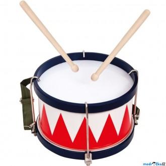 Dřevěné hračky - Hudba - Buben větší, 24cm (Bino)