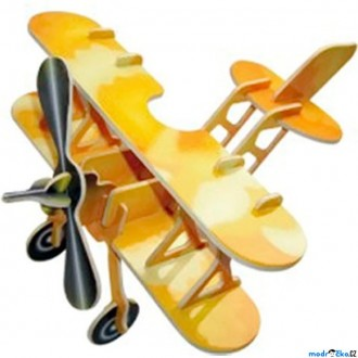 Puzzle a hlavolamy - 3D Puzzle barevné - Letadlo