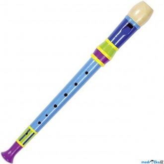 JIŽ SE NEPRODÁVÁ - Hudba - Flétna zobcová 32cm, barevná (Goki)