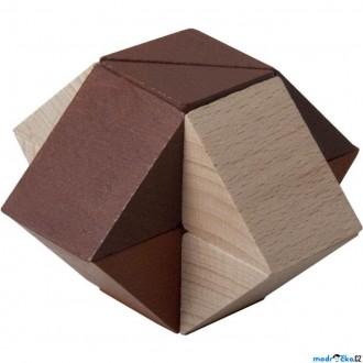 JIŽ SE NEPRODÁVÁ - Hlavolam dřevěný - Triangl (Detoa)