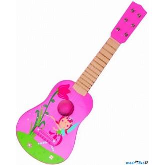 JIŽ SE NEPRODÁVÁ - Hudba - Kytara, Víla růžová, 6 strun (Woody)