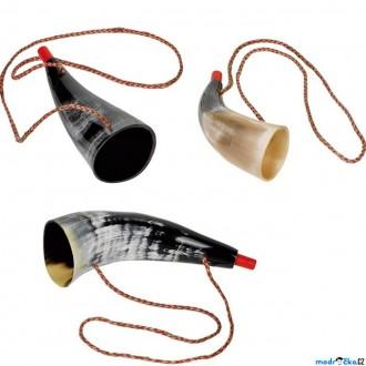 Dřevěné hračky - Hudba - Vikingský roh, 1ks (Goki)