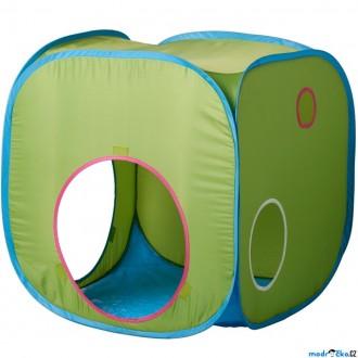 Ostatní hračky - Dětský domeček - Stan na hraní kostka, BUSA (Ikea)