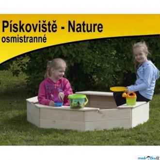 Na ven a sport - Pískoviště dřevěné - Osmistranné přírodní