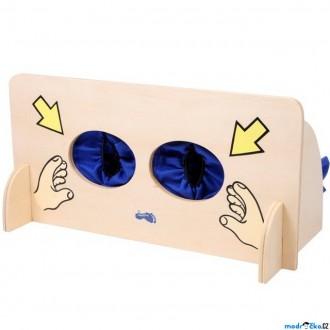 Dřevěné hračky - Didaktická pomůcka - Hmatová stěna (Legler)