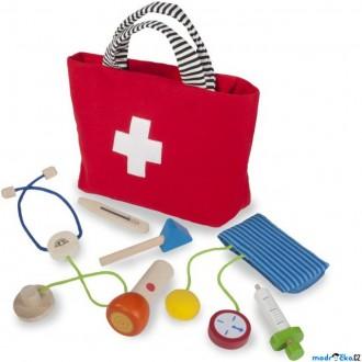 Dřevěné hračky - Doktor - Dětský doktorský set (Wonderworld)