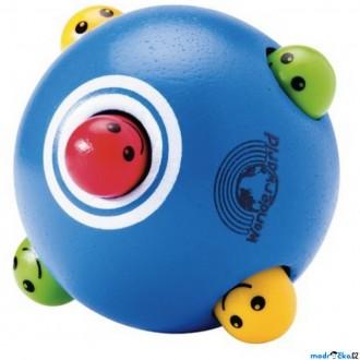 Pro nejmenší - Chrastítko - Dřevěný míč Píkabú (Wonderworld)