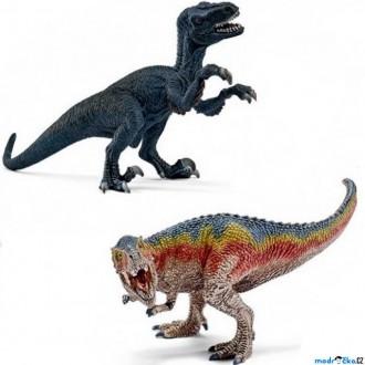 Ostatní hračky - Schleich - Dinosaurus set, T-Rex a Velociraptor
