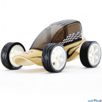 Dřevěné hračky - Auto - Autíčko mini Low Rider černé (Hape)
