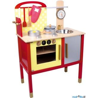Dřevěné hračky - Kuchyň - Dětská kuchyňka dřevěná Denise (Legler)
