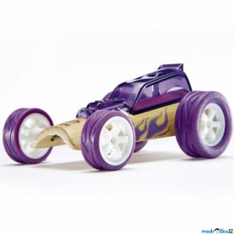 Dřevěné hračky - Auto - Autíčko mini Hot Rod fialové (Hape)