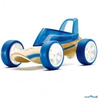 JIŽ SE NEPRODÁVÁ - Auto - Autíčko mini Roadster modré (Hape)
