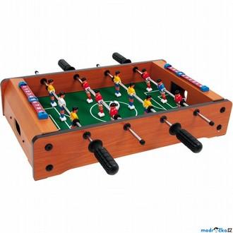 Dřevěné hračky - Fotbálek - Stolní fotbal menší Poldi (Legler)