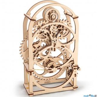 Puzzle a hlavolamy - 3D mechanický model - Hodiny (Ugears)