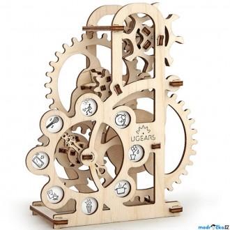 Puzzle a hlavolamy - 3D mechanický model - Dynamometr (Ugears)