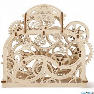 Puzzle a hlavolamy - 3D mechanický model - Divadlo (Ugears)